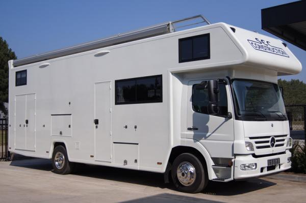 Painting kitchen cabinets grey - Motorhomes Sec Construction