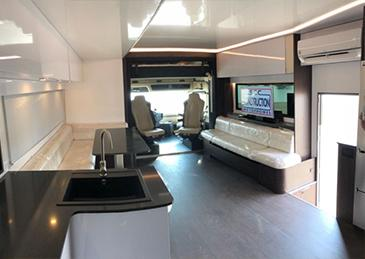 SEC MOTORHOME SLIDE OUT 5000 INTERIOR