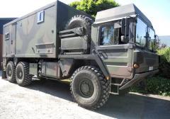 SEC 4x4 Military Motorhome