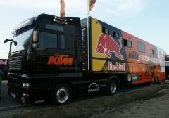 SEC Racing Service Trailer 13500